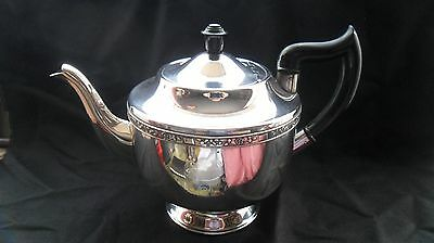 Stunning vintage silver-plated teapot by Viners of Sheffield