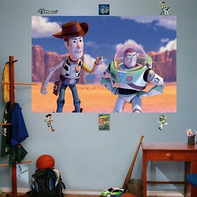 FATHEAD Woody and Buzz Mural Graphic Wall D?cor