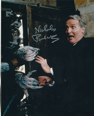 Nicholas Parsons In Person Signed Photo - B199 - Doctor Who