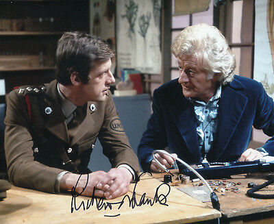 Richard Franklin In Person Signed Photo - B203 - Doctor Who