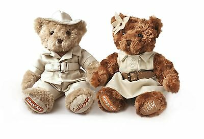 Limited Edition Safari Gulliver & Lily Bears *new* Fit For Collectors/presents*