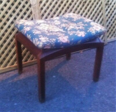 Early E Gomme/G Plan mid century stool for recovering (ref 16.08.141)