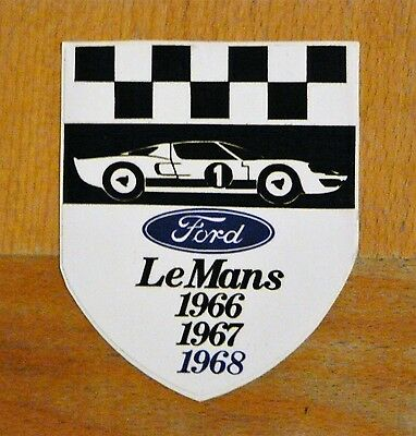 Ford GT40 wins Le Mans 24 Hour 1966 / 67/ 68 Racing / Motorsport Sticker Decal