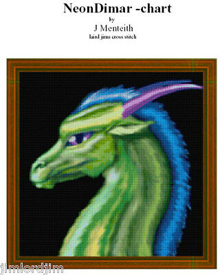 NEON DIMAR - Cross Stitch Chart