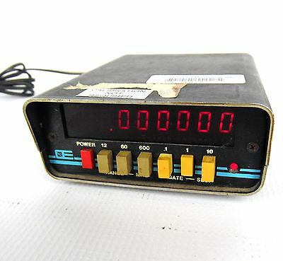 Optoelectronics Inc. 7010 A Frequency Counter 600 MHZ
