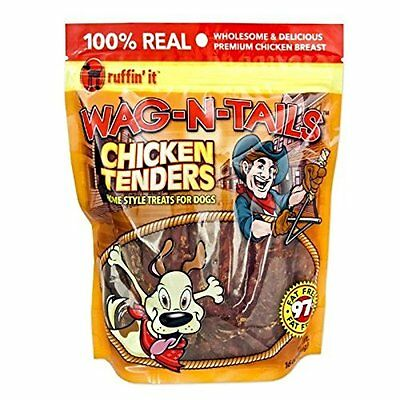 Wag-N-Tails 16-Oz. Chicken Tenders Dog Treats Ruffin It Misc Dog and Cat 8202