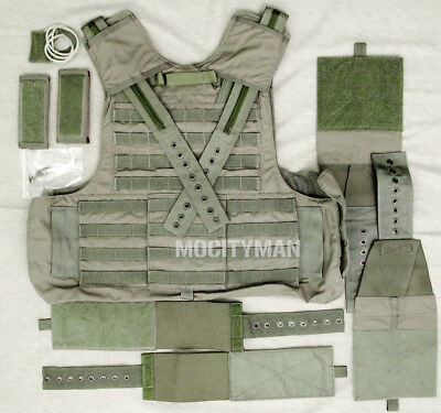 Eagle MAR CIRAS Plate Carrier Vest - Extra Large - Ranger Green - USA Made - NEW