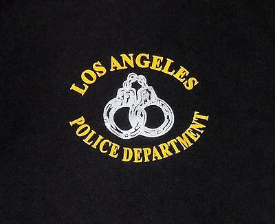 LOS ANGELES Police Department California Dept LAPD handcuffs shirt