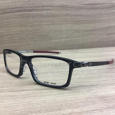 Oakley Pitchman Eyeglasses Polished Black OX8050-0553 Authentic 53mm