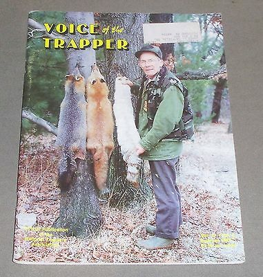 Voice of the Trapper magazine,1987,trapping wildcats,squirrel snaring,Pan Handle