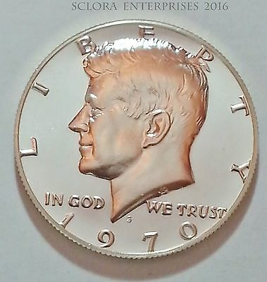 1970 S Kennedy *proof* Half Dollar   *40% Silver*    **free Shipping**