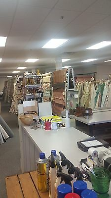 Fabric Store - Upholstery/Drapery Inventory and Fixtures Only
