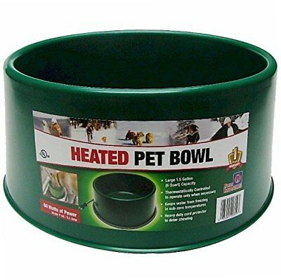 Farm Innovators Model P-60 60-Watt 1 ½ Gallon Heated Pet Bowl