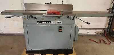 Delta DJ20 37-350 Jointer, 1987, 1.5HP, 230V, 3PH, Cleaned, Checked