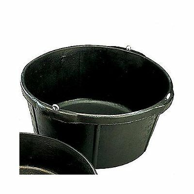 Fortex Rubber Feeder Tubs for Horses, 6-1/2-Inch