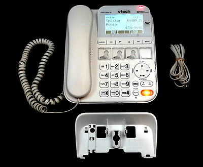 Vtech SN6197 Careline Home Safety Phone w/ Answering Machine ~ Base & Handset