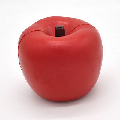 10CM Jumbo Areedy Squishy Red Pink Apple Super Slow Rising Scented Fruit Toy Hot