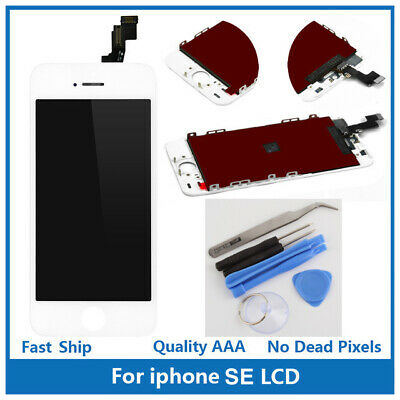 iPhone SE Replacement Touch Screen LCD Digitizer Display Assembly White w/ Tools