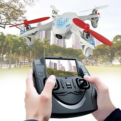 Hubsan X4 H107D RC Quadcopter Helicopter FPV With Camera Live Video Transmitter