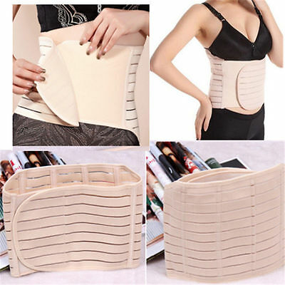 Postpartum Belly Wrap Belt Pregnancy Recovery Girdle Corset Waist Trainer Band