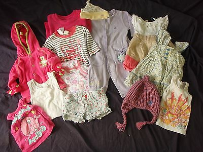 baby girls size 00 bulk clothes lot lovely condition