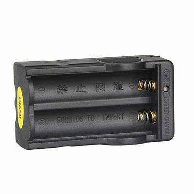 New Smart Double 3.7V Battery Charger For 18650 Rechargeabl Li-ion Battery NI