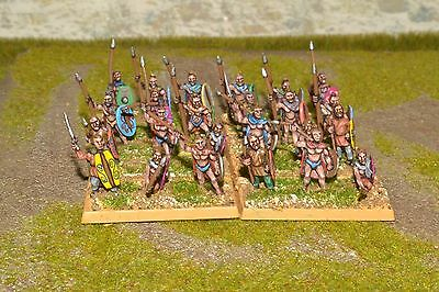 1/100 15mm DPS painted Ancient Ancient German Warband ExEG005 RC230