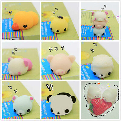 Kawaii 3D Animal Sea Lion Mochi Squeeze Kids Toys Gift Soft Press Doll Squishy