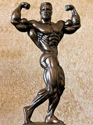 "#207B Weight Lifting Powerlifting Bodybuilding Trophy 14"" TALL"