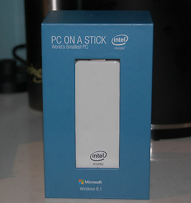 Intel PC on a Stick NEW 32GB storage 2GB RAM