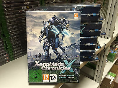 Xenoblade Chronicles X - Limited Edition PAL BRAND NEW SEALED RARE!
