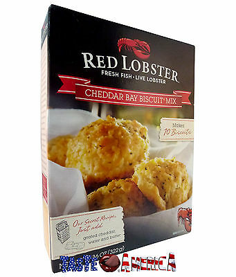 Red Lobster Cheddar Bay Biscuit Mix Makes 10 Biscuits 322g