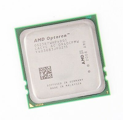 AMD OPTERON 2387 OS2387WHP4DGI Quad Core CPU 4x 2.8 GHz 6 MB L3 Socket F - 1207
