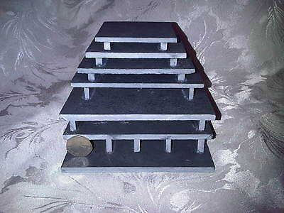 "Slate ""HYPAN MAXI TUNNEL PLUS FRY SAVER"" Pleco Breeding Cave Set L046 L129 L174"