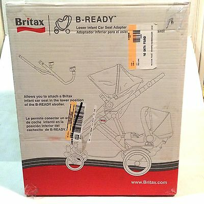 Britax B-Ready Lower Infant Car Seat Adapter S842400 Forward Rear Position New
