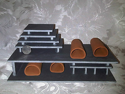 """HYPAN MIDI TUNNEL 4 D-PLUS FRY SAVER"" Pleco Breeding Cave Set L046 L129 L260"