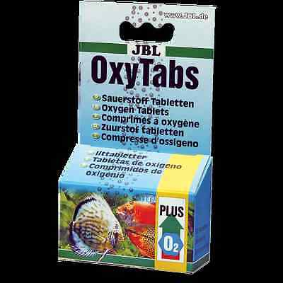 JBL OxyTabs - 50 Oxygen Tablets for live fish transport / shipping bag buddies