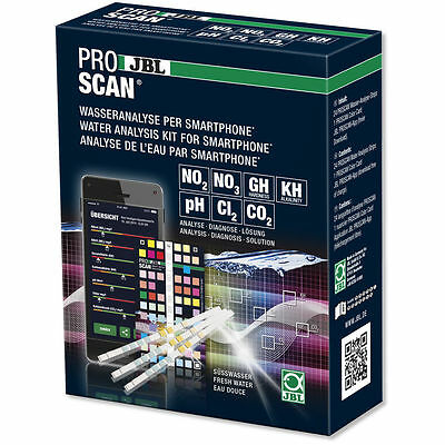 JBL ProScan Water Analysis Kit using Smartphone for Quick & Easy Reading Results
