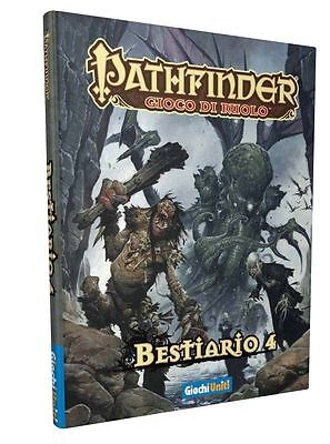 Pathfinder supplemento BESTIARIO 4 gdr in italiano