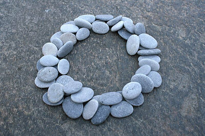 50 Beach Pebbles - Finest Quality Beach Stones - For Jewelry, Arts And Crafts