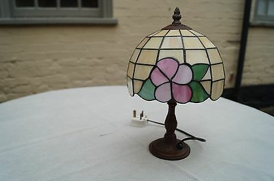 A good quality vintage tiffany style lamp