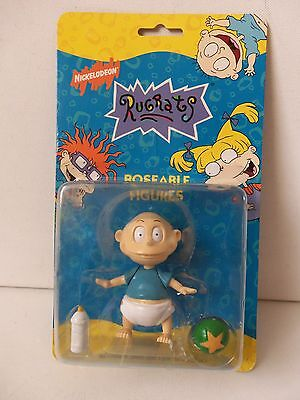 Nickelodeon Rugrats Tommy Pickles Baby Poseable Figure Viacom TV Film Doll