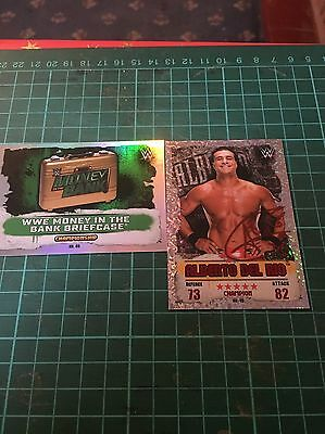 19 WWE Topps Slam Attax Takeover Trading Cards