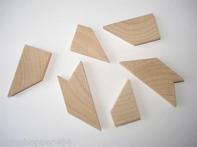 Wooden 'h' Puzzle - 6 Piece Brain Teaser - Great Wedding Favours