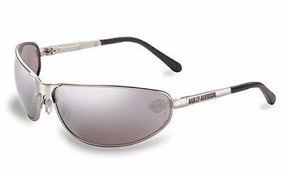 HARLEY DAVIDSON Sunglasses Glasses Motorcycle Riding HD305 Silver Mirror