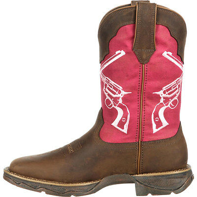 DRD0104 Durango Lady Rebel Crossed Guns Western Boot NEW