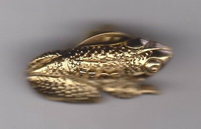 "Goldtone ""FROG"" Pin"