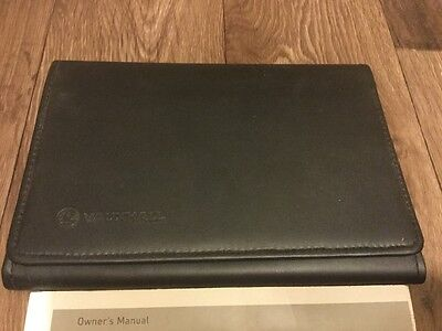 Vauxhall Tigra Owners Handbook With Leather Wallet 2004-2009 Genuine