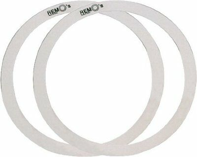 Remo RO0014-00 Drum Muffler Dampening 1-Inch and 1.5-Inch Snare Drum Rings