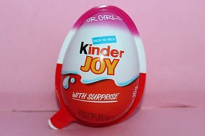 6x girl Kinder JOY Surprise Eggs,  Chocolate  Gift Toys free shipping